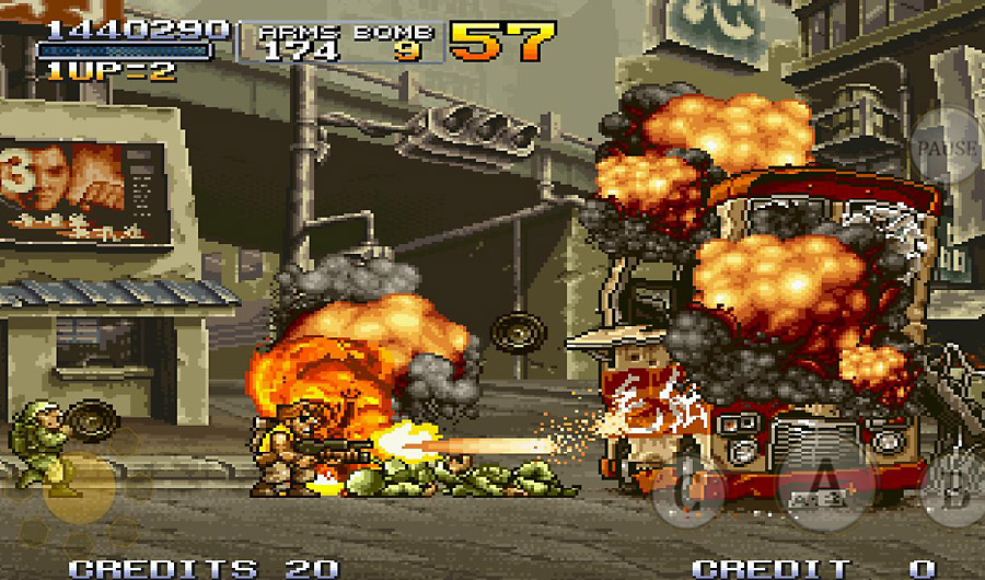metal slug gameplay