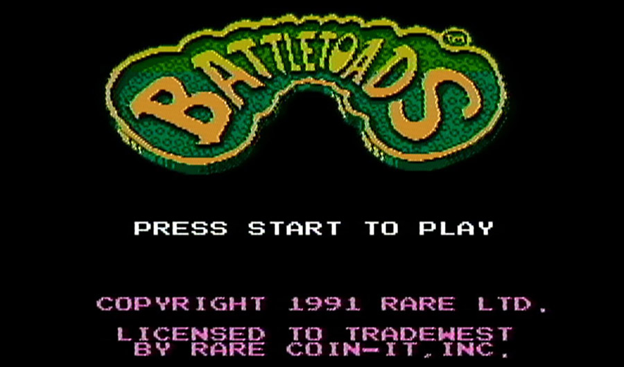 Battletoads gameplay
