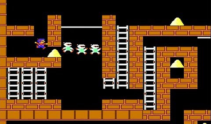 lode runner gameplay